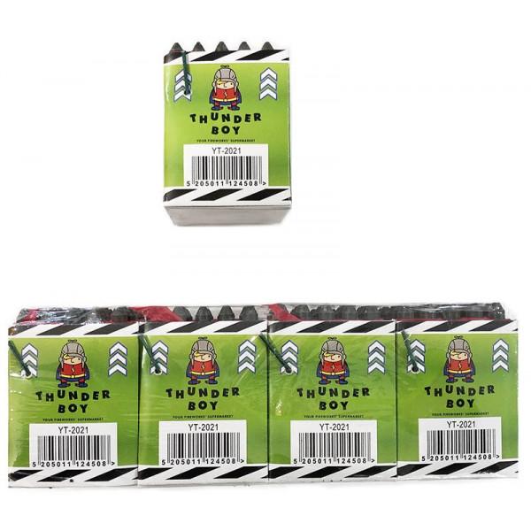 Ιπτάμενες σφυρίχτρες χρώματος Thunderboy 25 βολών