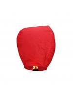 Ιπτάμενο αυθεντικό κινέζικο φαναράκι  κόκκινου χρώματος, μέγεθος Large