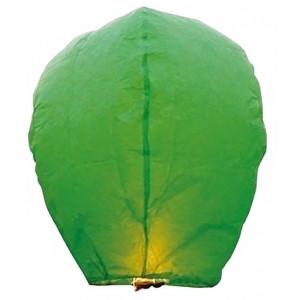 Ιπτάμενο αυθεντικό κινέζικο φαναράκι B&L πράσινου χρώματος, μέγεθος Large