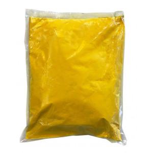Αυθεντική Πολύχρωμη Πούδρα  Holi Powder, ιδανική για δημιουργία εφέ, σε κίτρινο χρώμα 1kgr