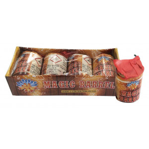 Παιδικά πυροτεχνήματα Magic Barrel  4 τεμάχια