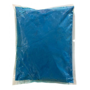 Αυθεντική Πούδρα Holi Powder, ιδανική για δημιουργία εφέ, σε μπλε χρώμα 1kgr