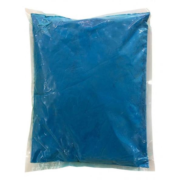 Πούδρα Holi Powder, ιδανική για δημιουργία εφέ, σε μπλε χρώμα 1kgr