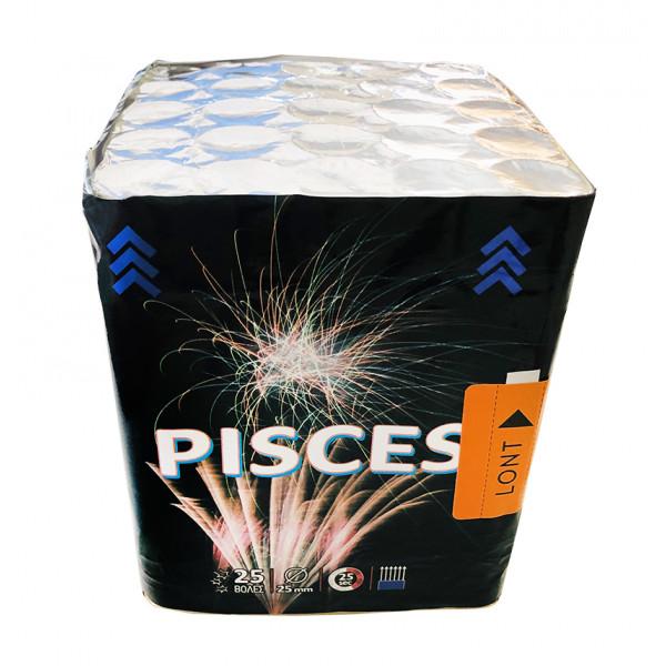 Πακέτο εναερίων πυροτεχνημάτων 25 βολών Pisces