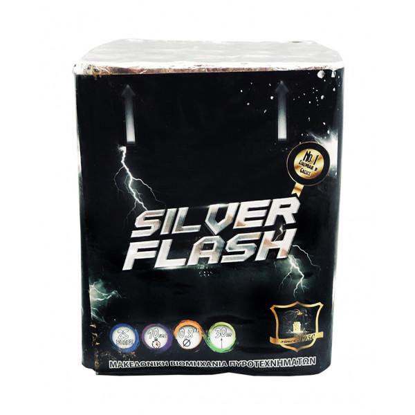 Πακέτο με πυροτεχνήματα SILVER FLASH 25 βολές