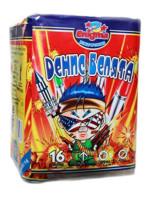 Πακέτο με πυροτεχνήματα Thunderboy Dennis  16 βολές