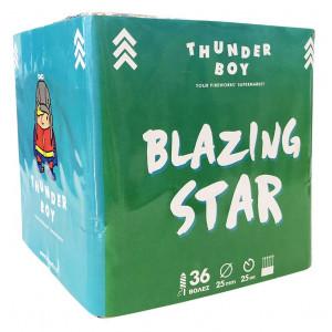 Πακέτο με πυροτεχνήματα βεγγαλικά Blazing Star 36 βολές