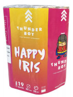 Πακέτο με πυροτεχνήματα Happy Iris  19 βολές