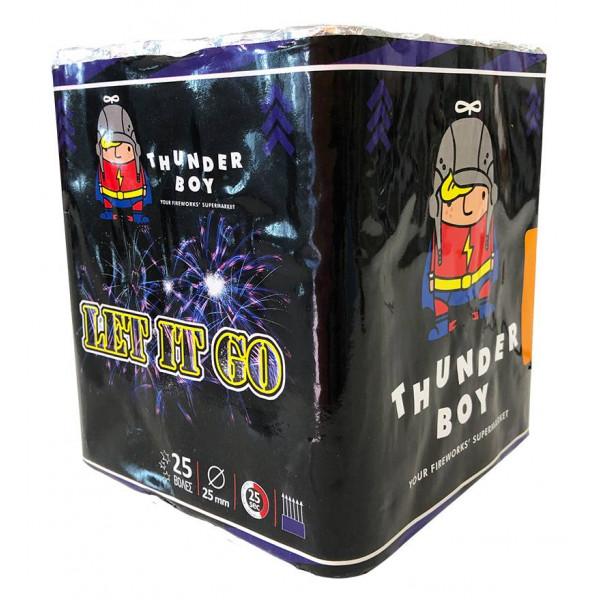 Πακέτο με πυροτεχνήματα Thunderboy Let it Go 25 βολές