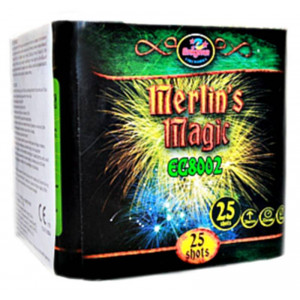 Πακέτο με πυροτεχνήματα Enigma Merlin's Magic 25 βολές