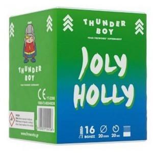 Πακέτο με πυροτεχνήματα Thunderboy Joly Holly 16 βολές