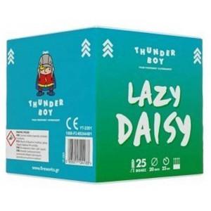 Πακέτο πυροτεχνημάτων Thunderboy Lasy Daisy 25 βολές