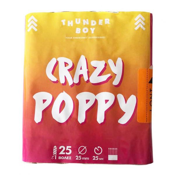 Πακέτο με πυροτεχνήματα Crazy Poppy  25 βολές
