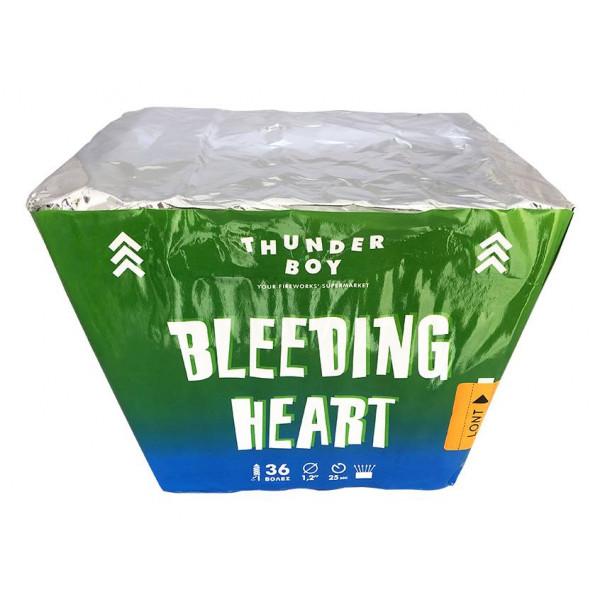 Πακέτο με πυροτεχνήματα Bleeding Heart 36 βολές