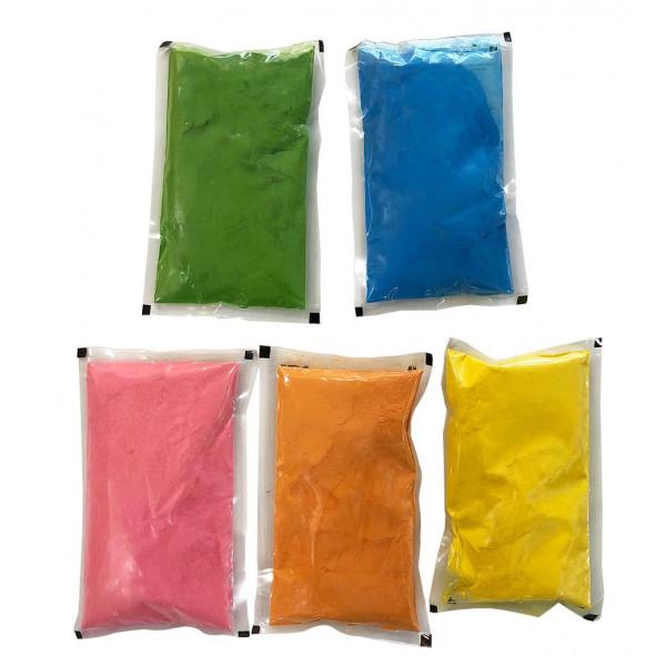 Σακουλάκια Holi Powder 100 γρ με πολύχρωμη πούδρα σετ 10 τεμ