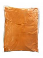 Αυθεντική Πούδρα Holi Powder, ιδανική για δημιουργία εφέ, σε πορτοκαλί χρώμα 1kgr
