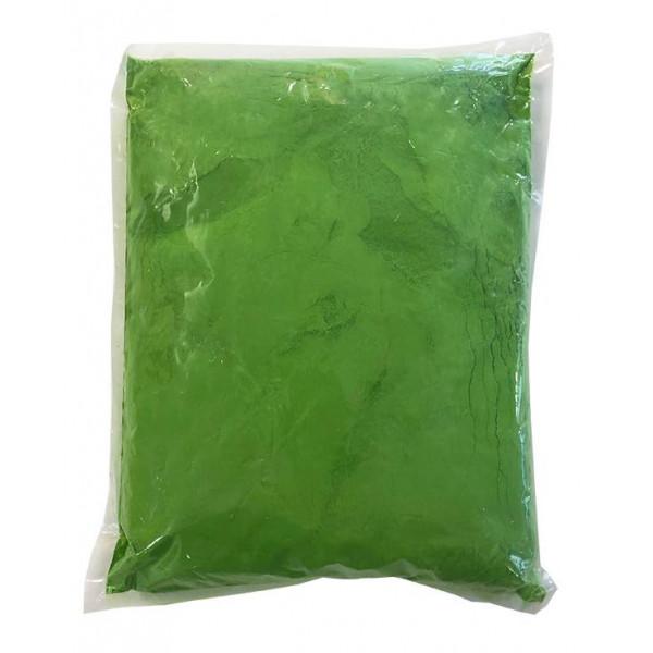 Αυθεντική Πούδρα Holi Powder, ιδανική για δημιουργία εφέ, σε πράσινο χρώμα 1kgr