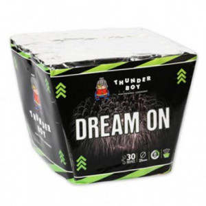 Πακέτο με πυροτεχνήματα Thunderboy Dream On σετ 30 βολών