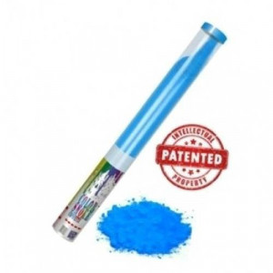 Κανόνι εφέ που εκτοξεύει πούδρα Holi Powder μπλε χρώματος (1 τεμάχιο) Thunderboy