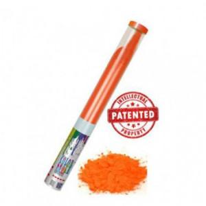 Κανόνι εφέ  που εκτοξεύει καπνό πορτοκαλί χρώματος (1 τεμάχιο) Thunderboy
