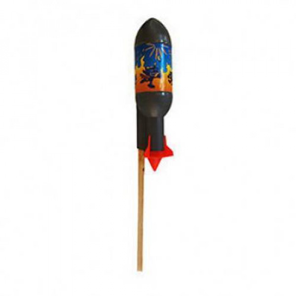 Ρουκέτα που εκτοξεύεται στον ουρανό Thunderboy Γίγας