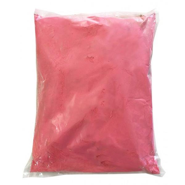 Πούδρα Holi Powder, ιδανική για δημιουργία εφέ, σε ροζ χρώμα 1kgr