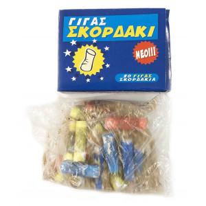 Πυροτέχνημα σκορδάκι Γίγας 20 τεμαχίων Thunderboy