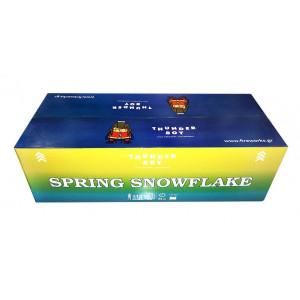Πακέτο με πυροτεχνήματα 112 βολών   Sprink SnowFlake